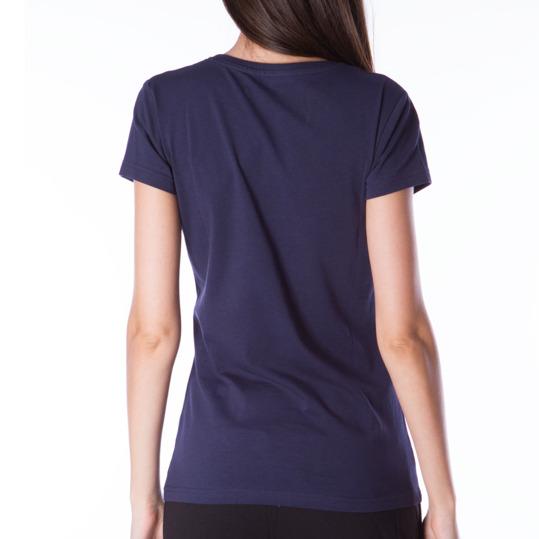 Camiseta UP Básicos azul marino mujer