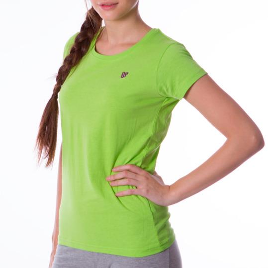 Camiseta UP Básicos verde pistacho mujer