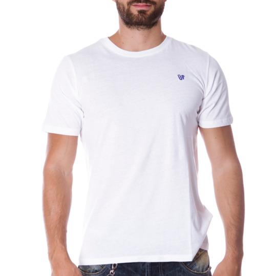 Camiseta UP Básicos blanco hombre