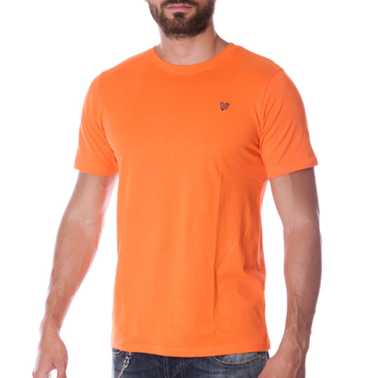 Camiseta UP Básicos naranja hombre