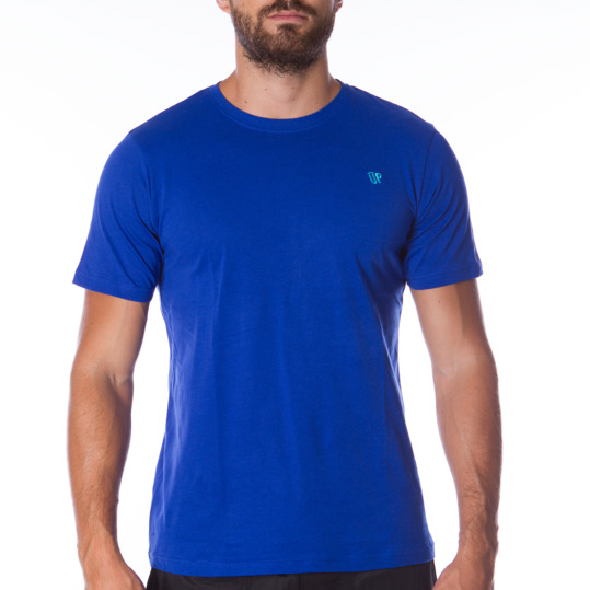 Camiseta UP Básicos azul hombre