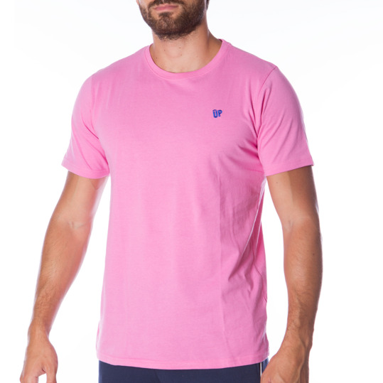 Camiseta UP Básicos rosa hombre