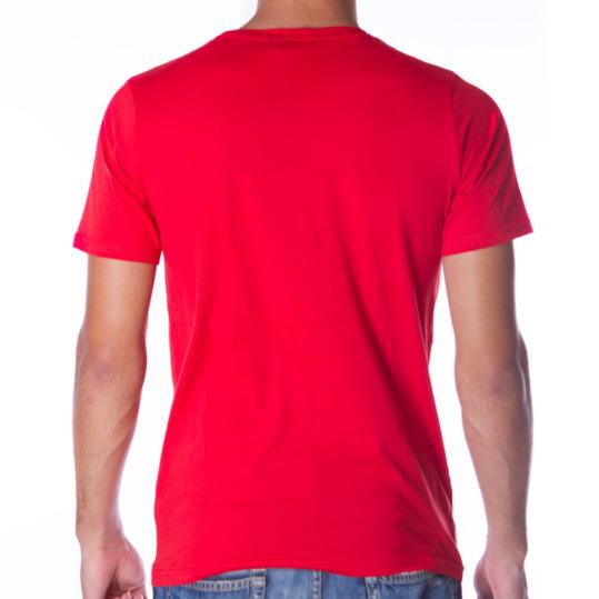 Camiseta UP Básicos rojo hombre