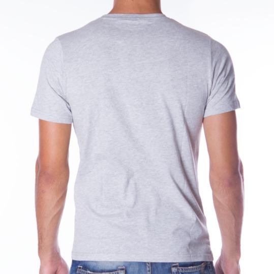Camiseta UP Básicos gris hombre