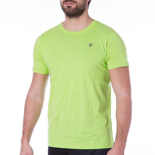 Camiseta UP Básicos verde pistacho hombre