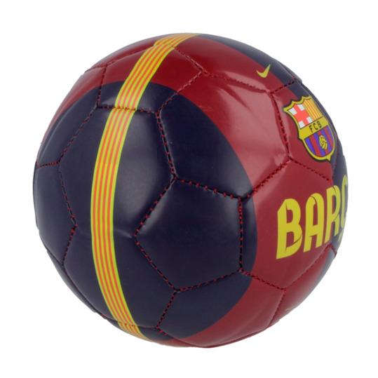 Minibalón Fútbol FC Barcelona NIKE Skills Azul Granate