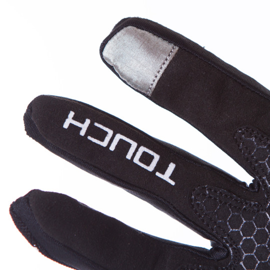 Guantes Ciclismo MÍTICAL MOTION Negro Blanco