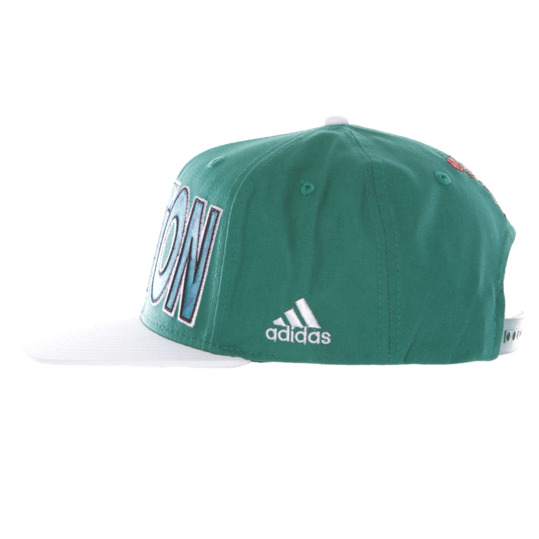 Gorra Plana BOSTON CELTIC ADIDAS Verde
