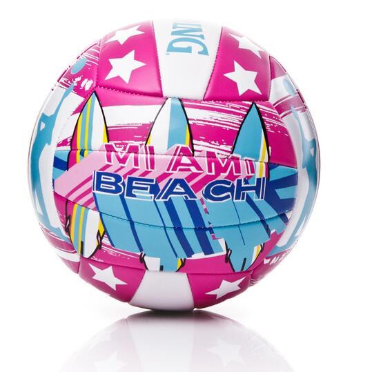 Balón Voley Playa SPALDING Miami Beach Fucsia