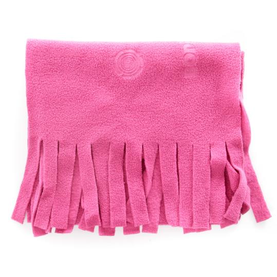 Bufanda polar niña BORIKEN rosa