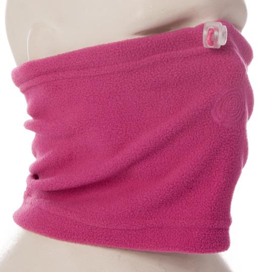 Braga cuello polar niña BORIKEN rosa