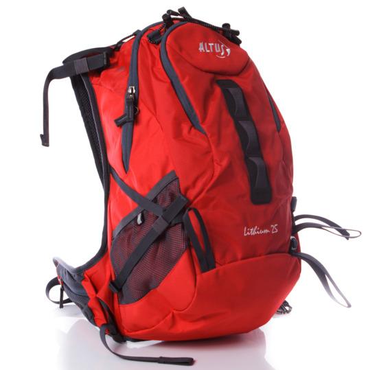 Mochila Montaña ALTUS LITHIUM 25 Rojo