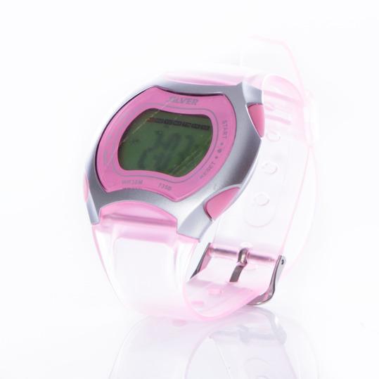 Reloj Digital SILVER Rosa Mujer