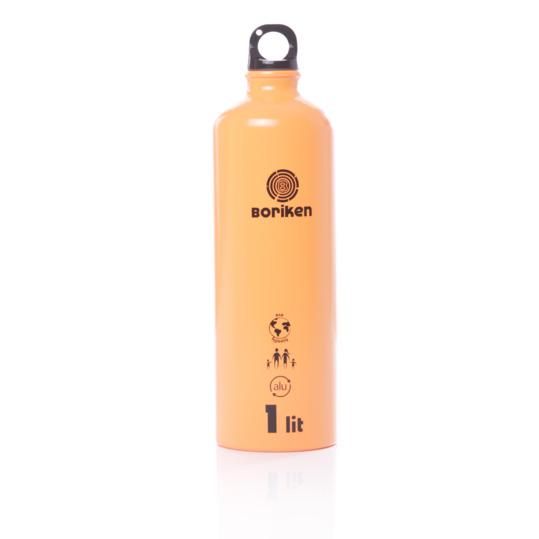 Botella Aluminio BORIKEN Naranja 1 litro