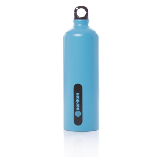 Botella Aluminio BORIKEN Azul 1 litro