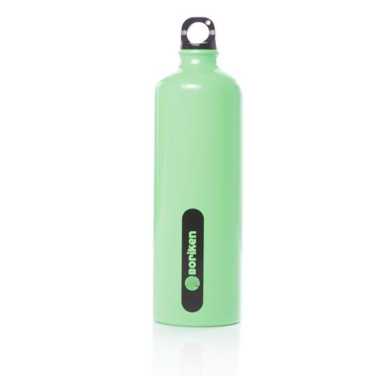 Botella Aluminio BORIKEN Verde 1 litro