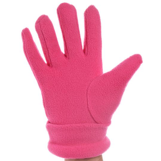 Guantes polar mujer BORIKEN rosa (6'5-7)