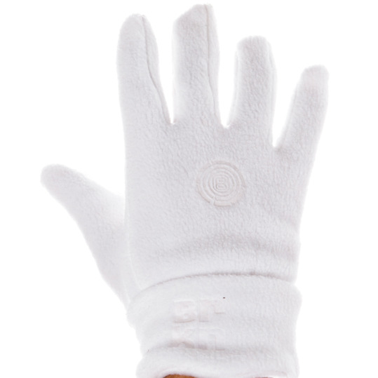 Guantes polar mujer BORIKEN blanco (6'5-7)