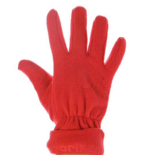 Guantes polar niños BORIKEN rojo (5-6)