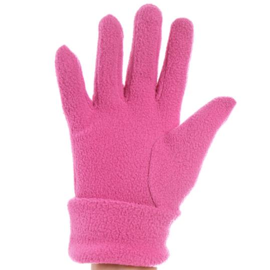 Guantes polar niña BORIKEN rosa (5-6)