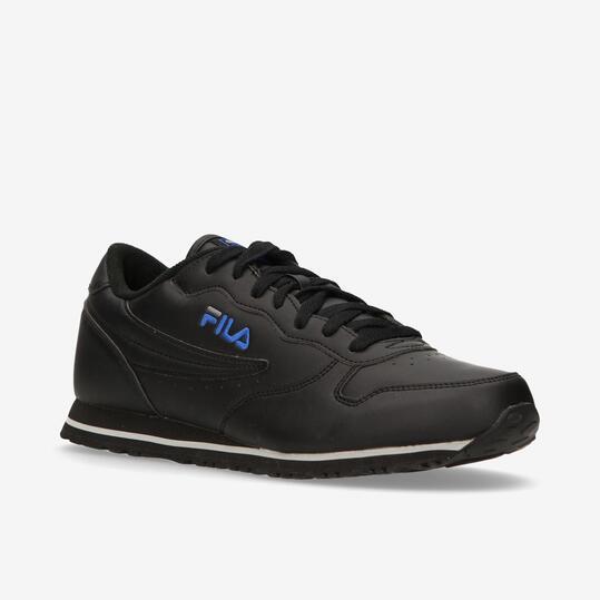 Zapatillas Retro FILA EURO JOGGER II Hombre Negro Azul