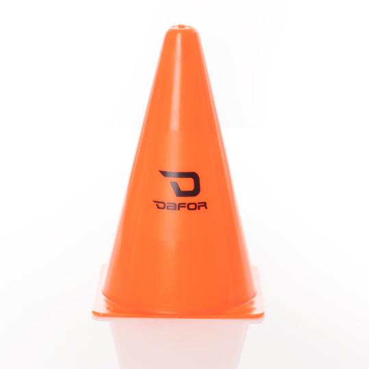 Conos Indicadores Entrenamiento DAFOR Naranja Flúor