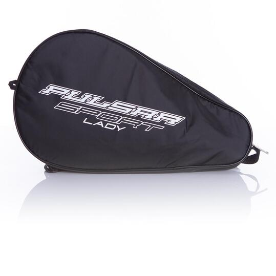 Pala Pádel DUNLOP Pulsar Sport Soft Mujer Negro Fucsia-Flúor