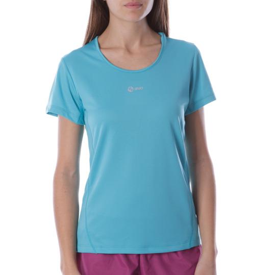 Camiseta Running IPSo Turquesa Mujer