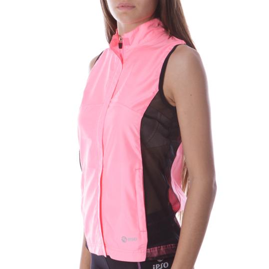 Chaleco Running IPSo Rosa Mujer