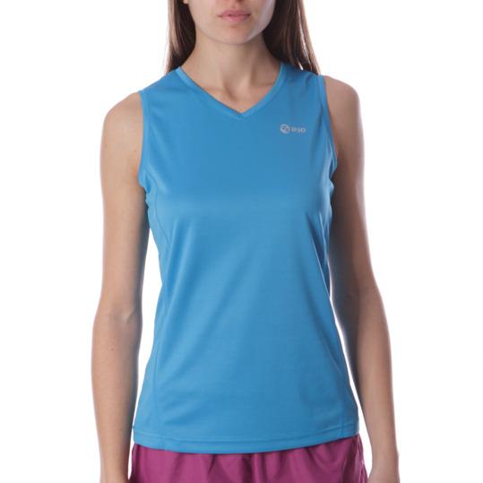 Camiseta Running IPSo Bsicos Azul Mujer