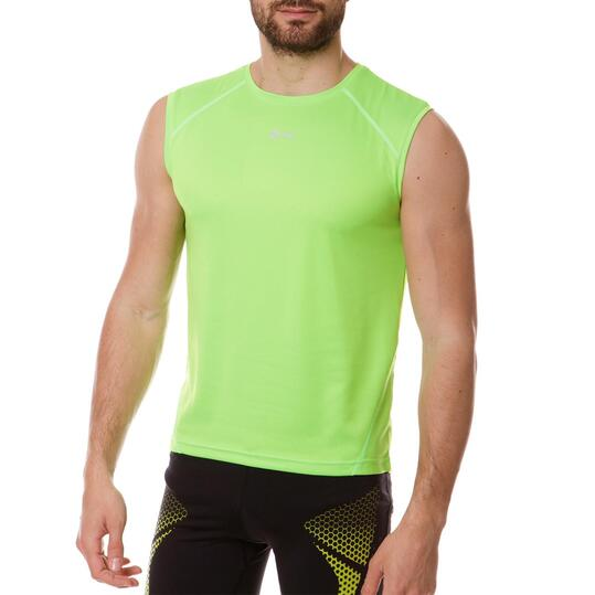 Camiseta Sin Mangas IPSO BASIC Verde Hombre