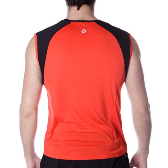 Camiseta Running IPSo Combi Rojo Hombre