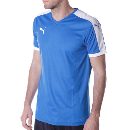 Camiseta Fútbol PUMA Pitch Azul Hombre