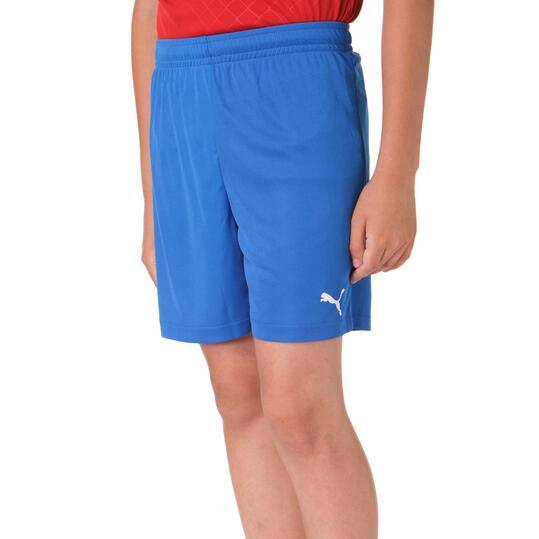 Pantalón Fútbol PUMA Velize Azul Niño