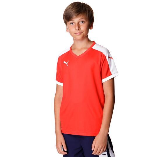 Camiseta Fútbol PUMA Rojo Niño