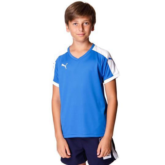 Camiseta Fútbol PUMA Azul Royal Niño