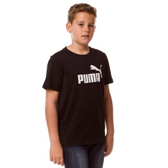 Camiseta Moda PUMA Ess Negro Niño (8-16)