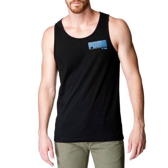Camiseta Moda PUMA Negro Hombre