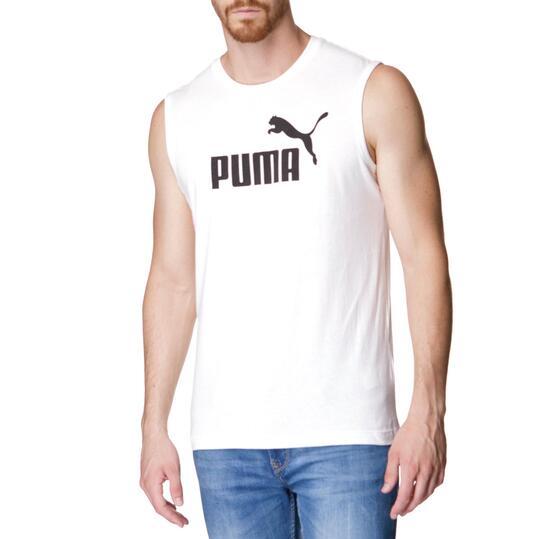 Camiseta Moda PUMA Nº 1 Blanco Hombre
