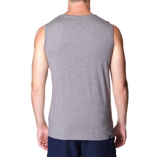 Camiseta Moda PUMA Nº1 Gris Vigoré Hombre