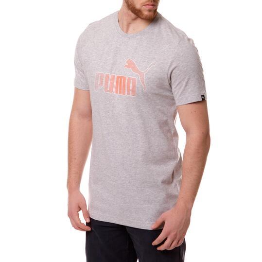 Camiseta Moda PUMA Fun Ka Gris Vigoré Hombre