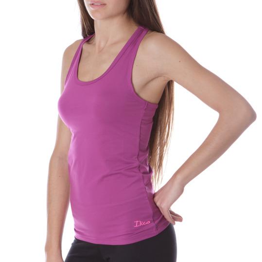 Camiseta Fitness ILICo Morado Mujer