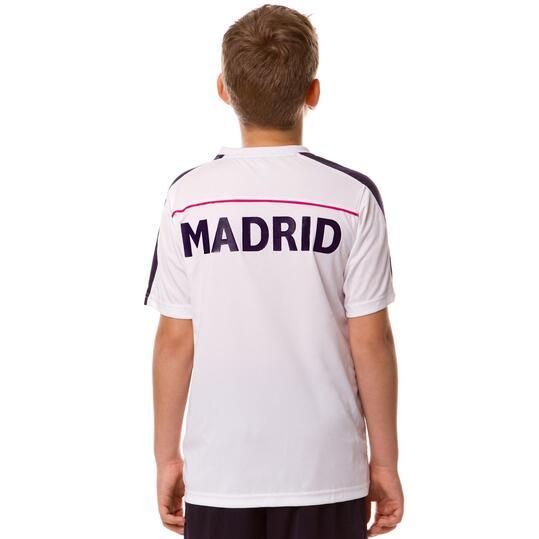 Camiseta Fútbol Dafor Blanco Niño (4-16)