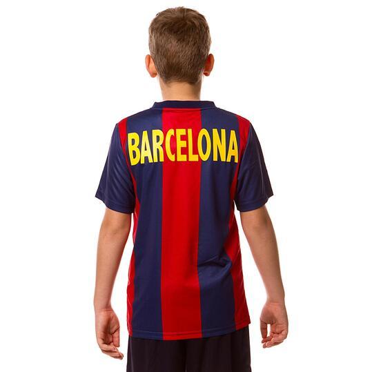 Camiseta Fútbol DAFoR Barcelona Niño