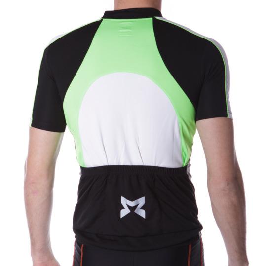 Maillot Ciclismo MÍTICAL Plata Verde Hombre