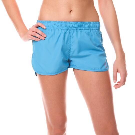 Short Fitness ILICo Curvo Azul Mujer