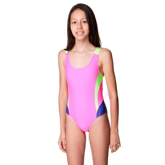 Bañador Natación PARAQUA Rosa Niña (10-16)