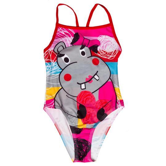 Bañador natación niña PARAQUA Multicolor (2-8)