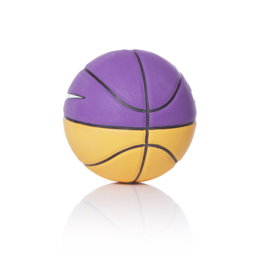 Minibalón Baloncesto NIKE Morado Swoosh