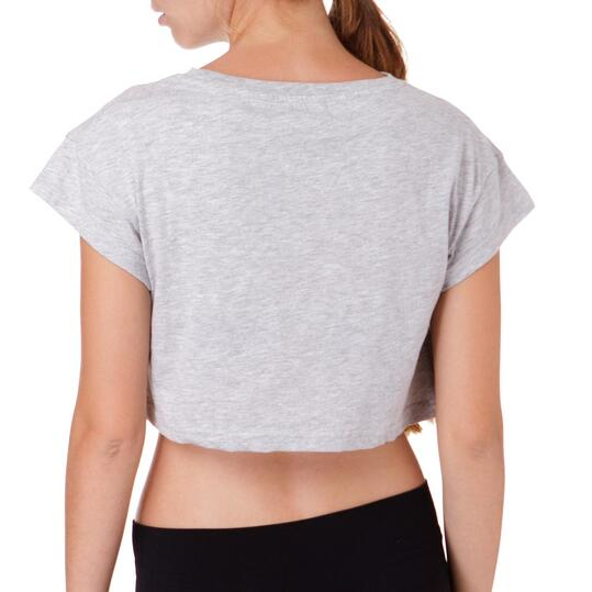 Camiseta UP Bsicos Gris Mujer